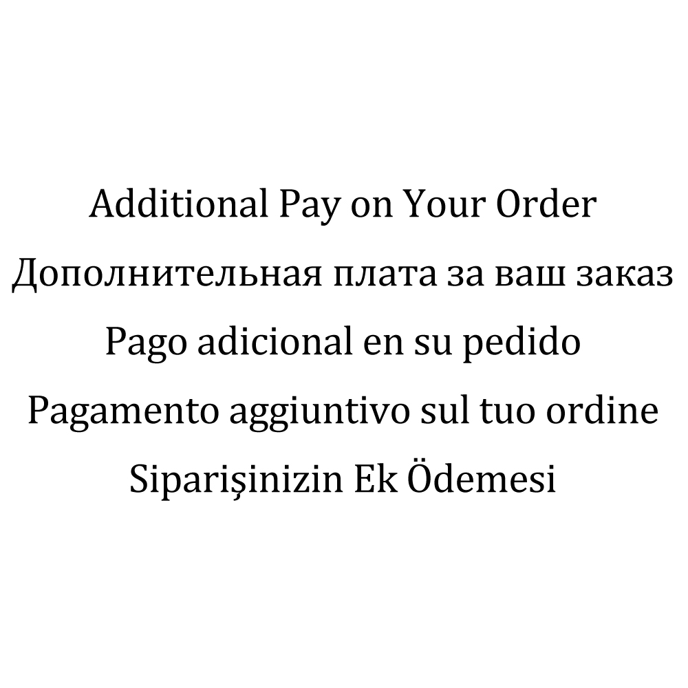 دفع إضافي على الطلب الخاص بك