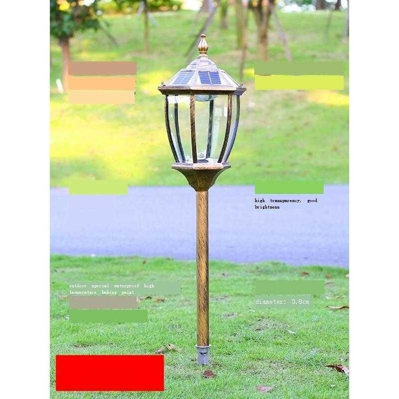 Lampara Lighting Luz LED Tuin Verlichting Lampe Exterieur Decoracion Jardin Exterior Outdoor Tuinverlichting Garden Light enlarge