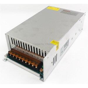 Однодиапазонный импульсный источник питания S-600-36, 600 Вт, 36В постоянного тока, 16, 6а, 110В/220В перем. Тока, 36В
