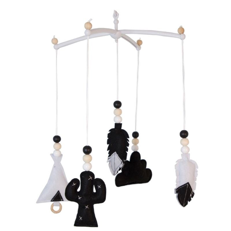 Фото - 85DE Baby Nordic Wooden Beads Wind Chimes Crib Bed Bell Mobile Rattles Kids Room Hanging Decorations Toys 3 pieces wind chimes feng shui wind bell lucky wind chimes bell vintage dragon and fish feng shui hanging chime for good luck