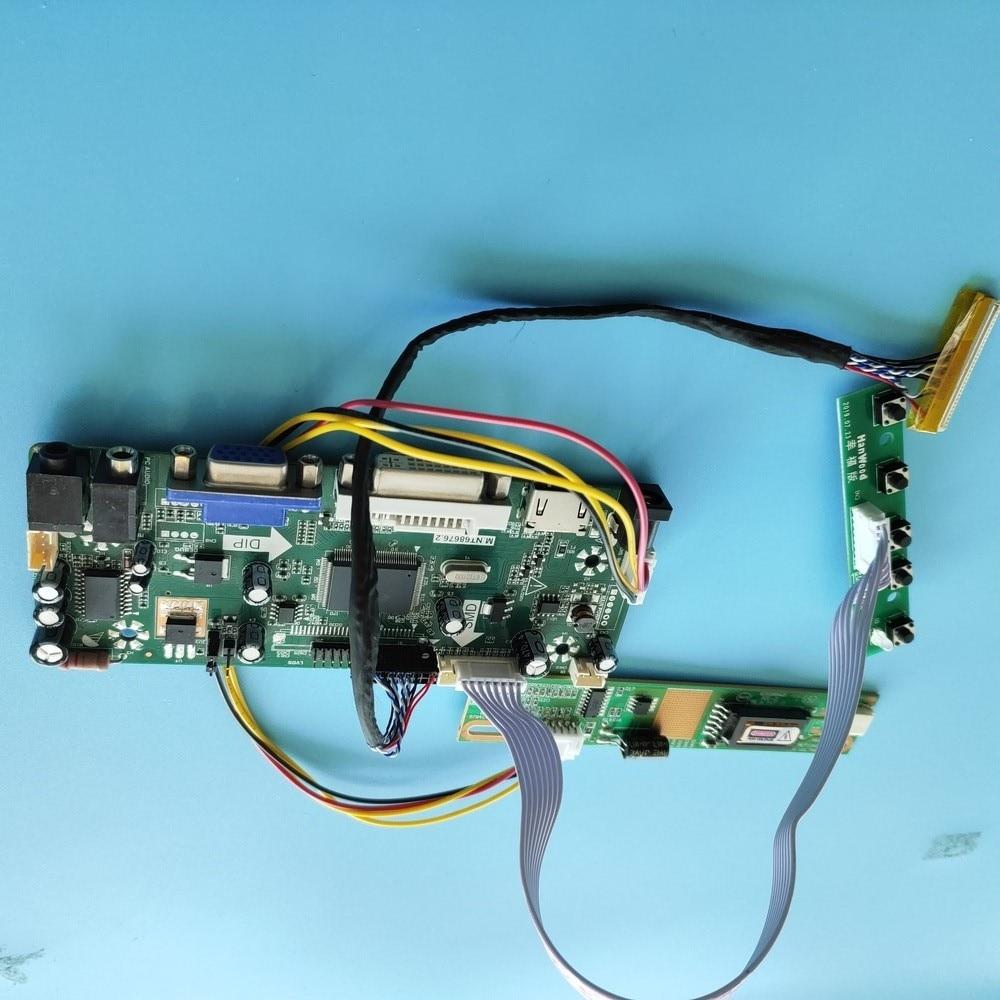كيت ل LP141WX3-TLP1/LP141WX3-TLP2 LCD الصوت لوحة 1280x800 عرض moitor تحكم مجلس 30pin M.NT68676 HDMI + DVI + VGA