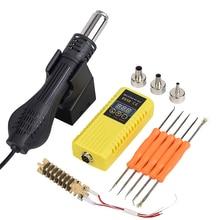 JCD pistolet à air chaud 8858 Micro Portable BGA reprise Station de soudure LCD numérique ventilateur à Air chaud soudage poste de soudure pistolet à air chaud