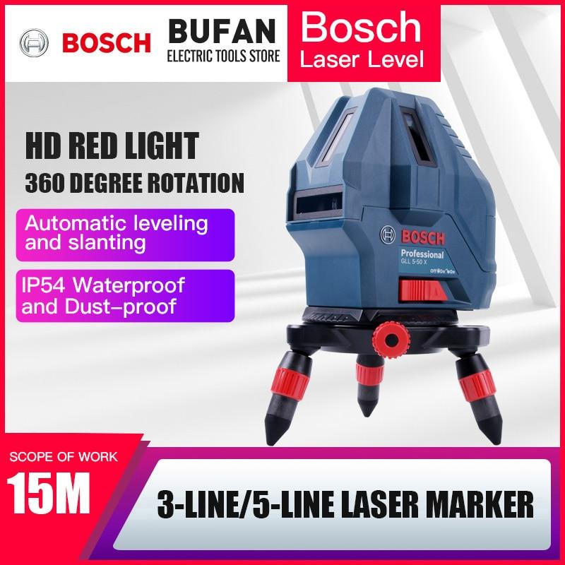 Bosch GLL5-50X/GLL3-15X Marcação A Laser Instrumento Marcação instrumento Infravermelho Linha Linha 1 3 5 ordem