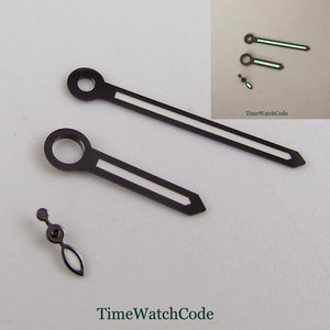 Classic Style Watch Hands Parts Fit For ETA6497 6498 ST3600 3620 Hand Winding Movement Green Lume 2 Colors