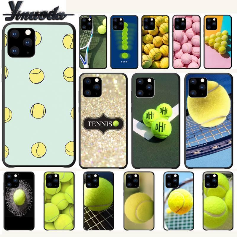Funda de lujo de pelota de tenis para Iphone 5s Se 6 6s 7 8 Plus X Xs Max Xr 11 Pro Max accesorios para teléfonos móviles