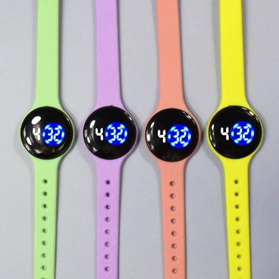 Children's Watch LED Display Electronic Watch Fashion Sports Waterproof Electronic Watch Boy Girl Bi