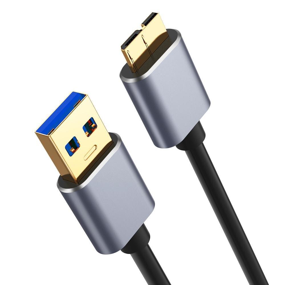 USB 3,0 tipo A Micro B Cable de sincronización de datos de...