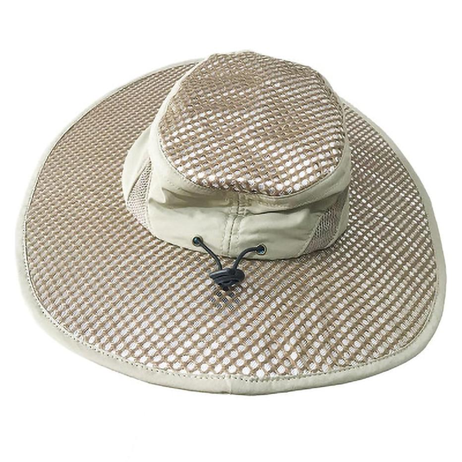 Round Cap Fisherman Hat Ice Cap Sunscreen Cooling Ice Cold Hat Air Conditioning Cap Sun Hat Anti-ultraviolet Arctic Cap
