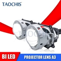 taochis a3 a3 max non destructive bi led projector lens 35w 6000k 3 0 inch hella 3r high beam low beam car light upgrade