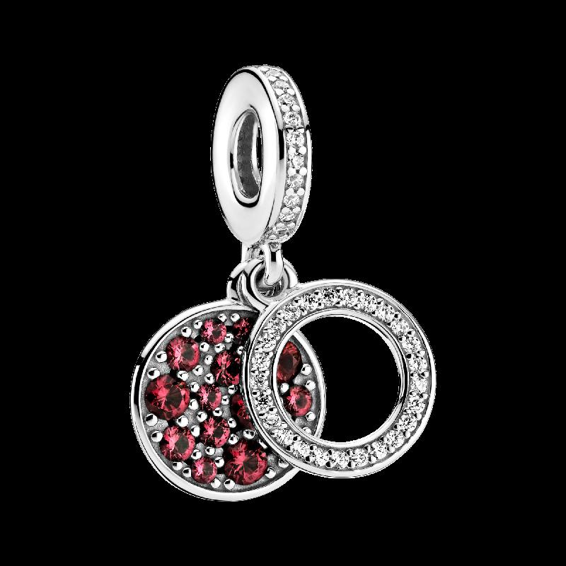 Женский-двойной-кулон-из-серебра-925-пробы-с-красным-цирконием-подвеска-для-браслета-3-мм-модные-ювелирные-украшения-«сделай-сам»