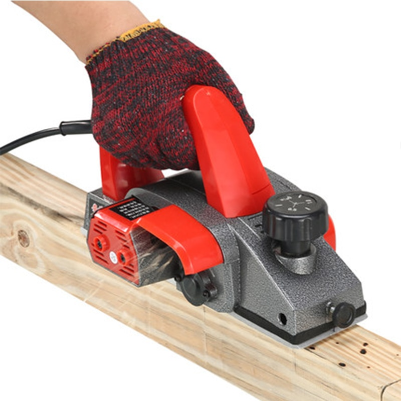 220V 500W Electric Planer Woodworking Tools Lane Household Small Multifunction Portable Desktop Carpenter Planing width150MM