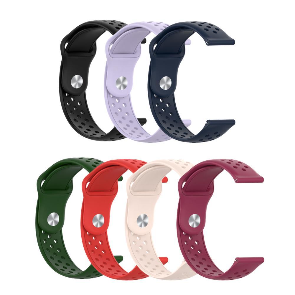 Correa de reloj de 20mm, correa de reloj de silicona de repuesto, correa de reloj cómodo para SUUNTO 3, reloj inteligente deportivo de FITNESS