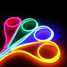 led neon with outdoor flexible light strip 220V soft light pipeline lamp KTV outdoor decoration waterproof long strip spotlight