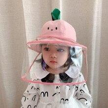 Chapeau Anti-pichet Protection haute qualité   Protection contre la poussière et les germes, couvercle Anti-poussière, chapeau de pêcheur pour enfants garçons et filles # YJ