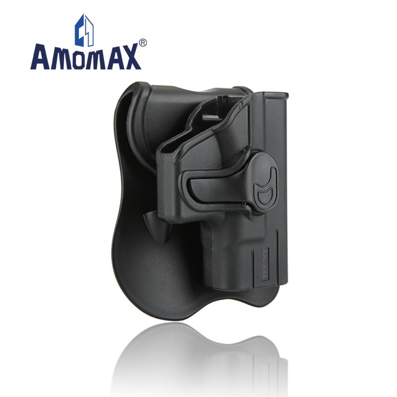 Funda de polímero táctica AMOMAX Level II apta para Glock 43 AM-G43G2