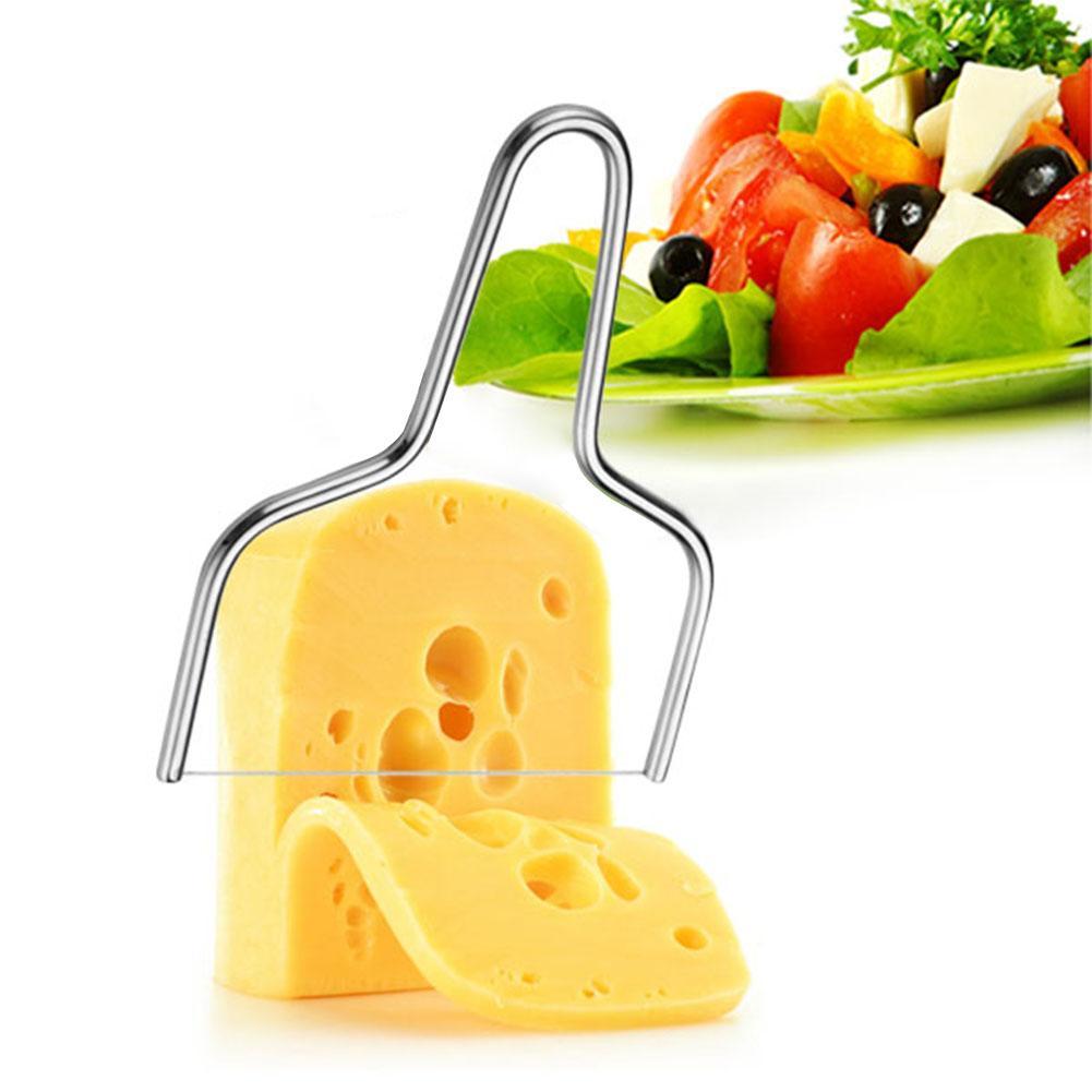 Cortador de Tofu de acero inoxidable para mantequilla, queso, rebanador hornear, herramienta de cocina, cuchillo para tarta de queso para cocinar, utensilios para queso