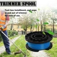 for karcher ltr 18 30 14443120 grass trimmer spool line ry124 2 444 016 0 garden tool
