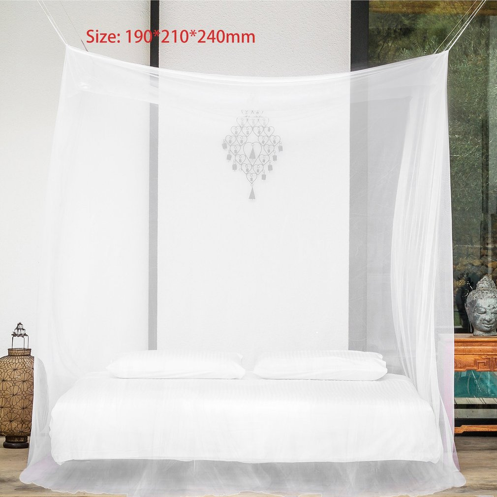 OUTAD Large Size 190*210*240mm Mosquito Net Bug Insect Repeller Box Shape Travel Camping Home Four Door ZM957101-2 LESHP  - buy with discount
