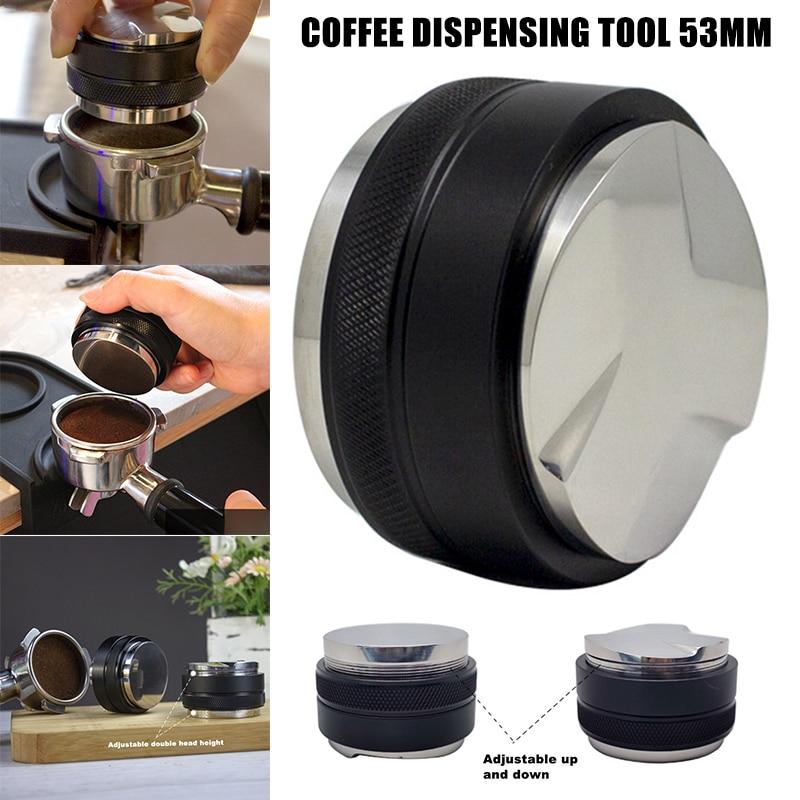 53 مللي متر القهوة الموزع اسبريسو موزع أداة توزيع اسبريسو القهوة مستوي يناسب ل 54 مللي متر Portafilter Tp-hot
