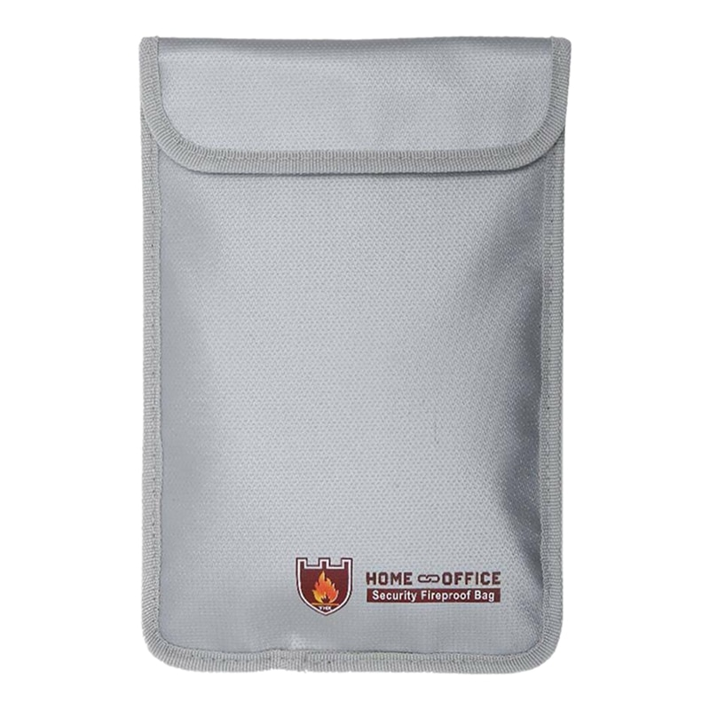 Caja de documentos caja de efectivo seguridad bolsa ignífuga impermeable nuevo