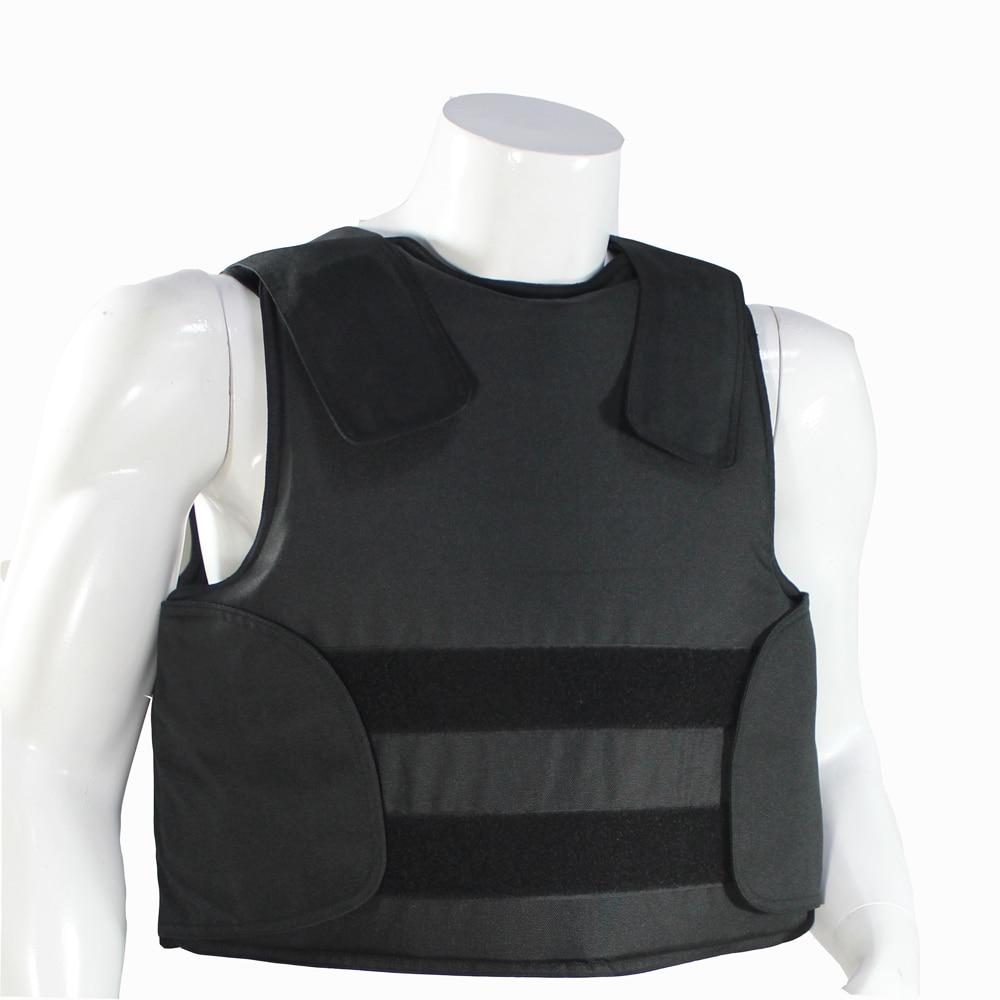 شحن مجاني خافي للرصاص فيستبوليس درع للجسم حجم L أسود اللون