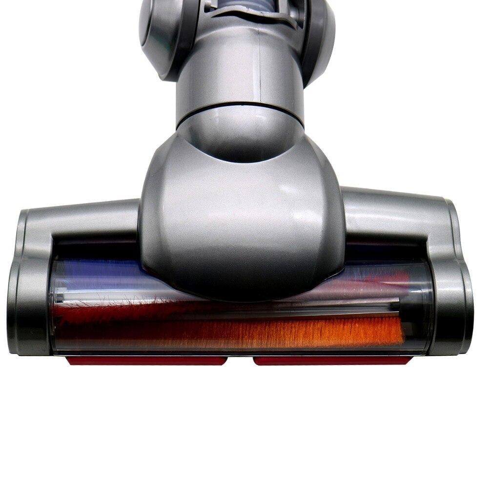 Электрическая щетка для моторизованного пола, насадка, Турбо щетка для dyson V6, триггер для животных, детали для головки Мотоцикла, беспроводная