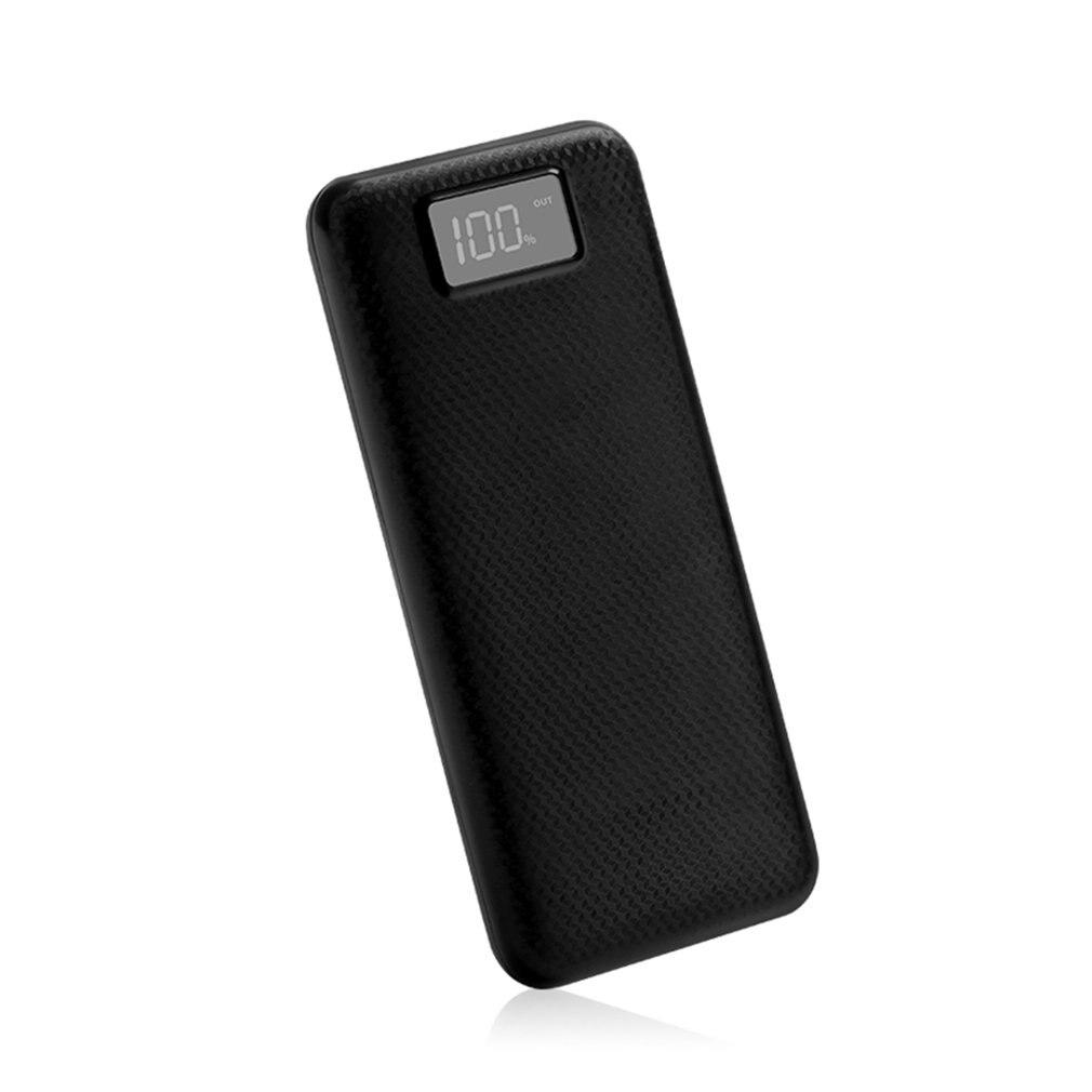MY8 Мощность внешнего аккумулятора, ЖК-дисплей цифровой Дисплей Dual USB Выход Мощность банк Зарядное устройство чехол Сделай Сам Наборы модуль 8 шт. 18650 Батарея держатель 5V 2A