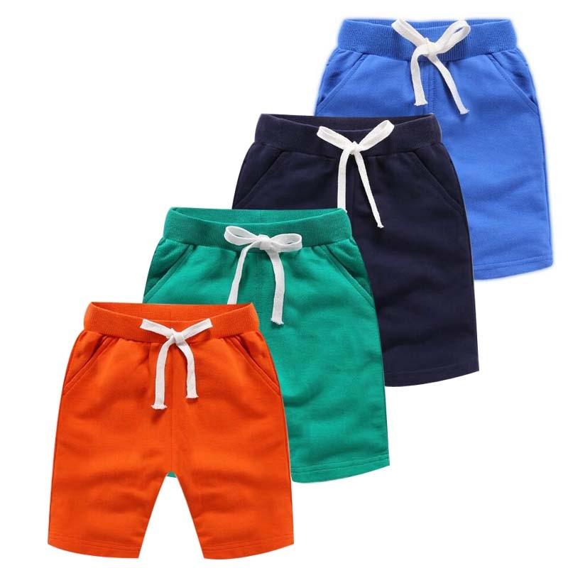 2020 sommer Neue Ankunft Koreanischen Stil kinder Kleidung Mode Baby Jungen Kurze Hosen Reine Farbe Baumwolle Taschen Sport Shorts