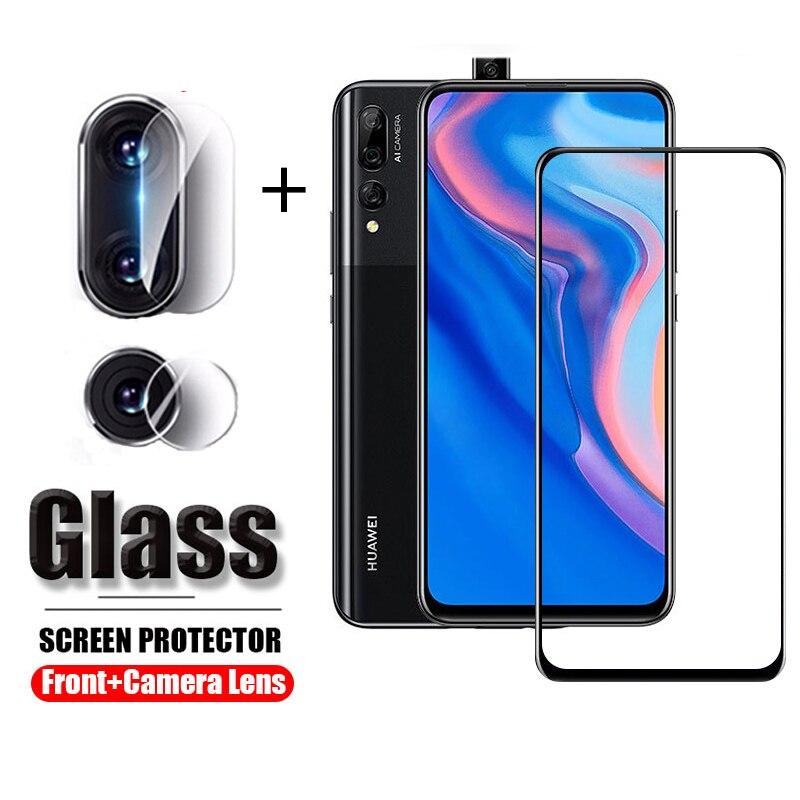 2 в 1, Защитное стекло для камеры Huawei Y9 Prime 2019, защита экрана, закаленное защитное стекло для huawei y9 prime y9prime 2019