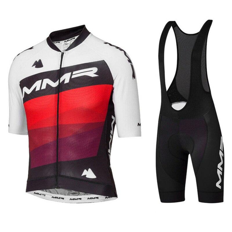 MMR equipe cyclisme maillot ciclista verano ciclismo ropa conjunto para hombre mtb...