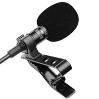 1 5m mini portable lavalier microphone condenser clip on lapel mic wired usb 3 5mm type c microfon for phone for laptop pc