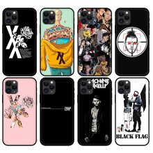 Noir tpu pour iphone 5 5s se 6 6s 7 8 plus x 10 pour iphone XR XS 11 pro MAX cas MGK Machine Gun kelly