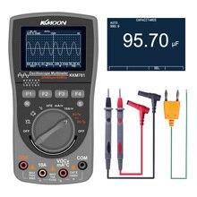 KKmoon KKM781 scopemètre de stockage numérique 2-en-1 numérique 40MHz 200 Msps/S Oscilloscope OSC 6000 compte vrai multimètre RMS