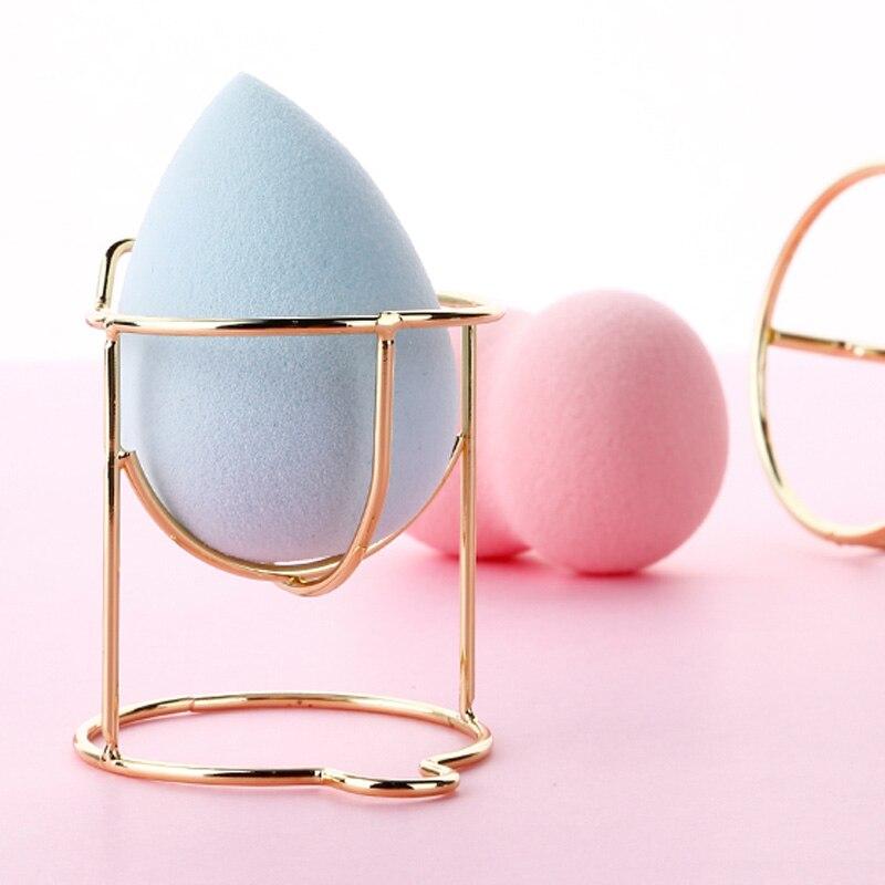 Beautiful Makeup Sponge Gourd Powder Puff Rack Egg Powder Puff Bracket Box Dryer Organizer Beauty Shelf Holder Tool 1pc