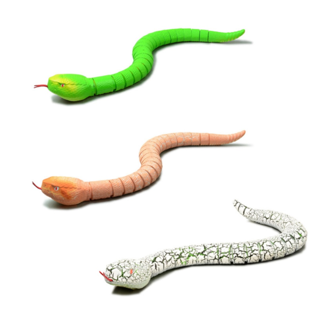 RC Infrared Remote Control Snake And Egg Rattlesnake Animal Trick Terrifying Mischief Toys for Children Funny Novelty Gift enlarge