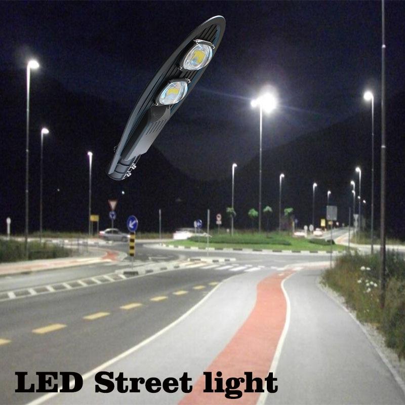 dwaterproof água ip65 AC85-265V led luz de rua industrial