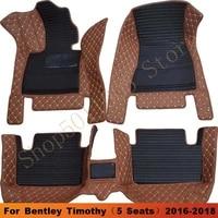 car floor mats for bentley timothy%ef%bc%885 seats%ef%bc%892016 2017 2018 car carpet auto interior accessories foot pads watertight car mats