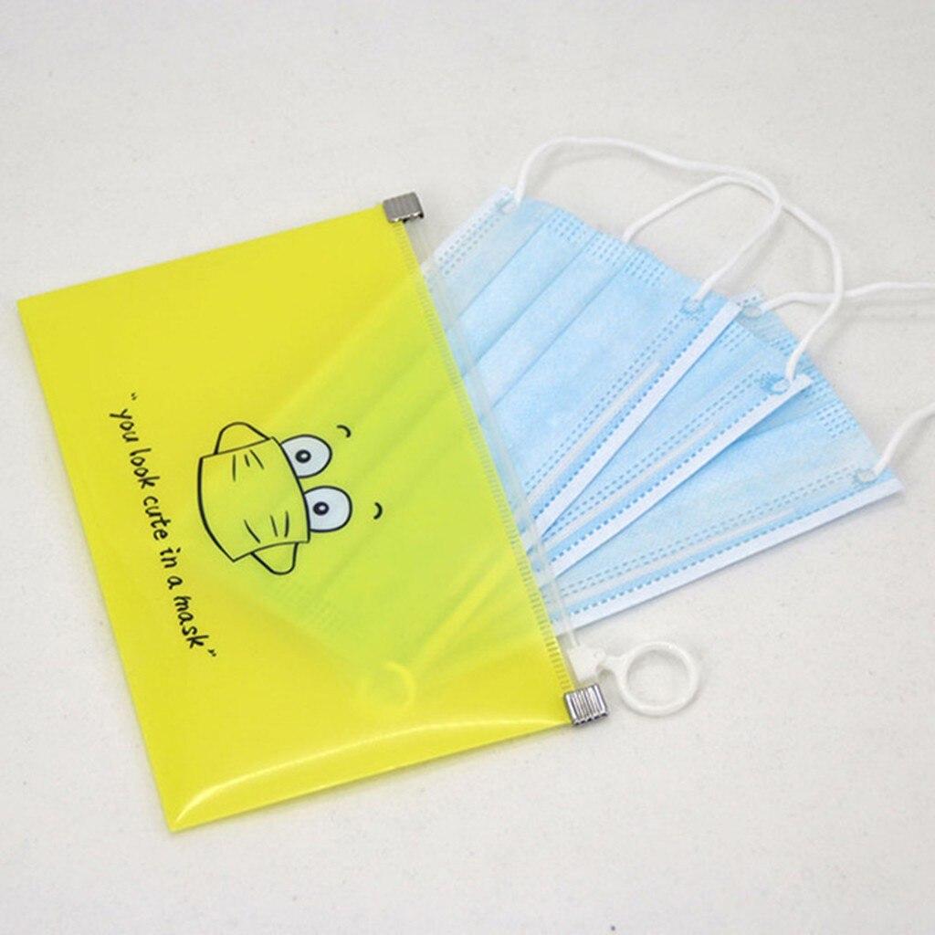 Kutia e mbulesës së maskës 1 copë në modelin e karikaturave, - Magazinimi dhe organizimi në shtëpi - Foto 4