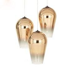 Zhongshan Guzhen Lighting Most Popular Plated Gold Glass Suspension Pendant Lamp Hanging Lamp luminaire suspendu