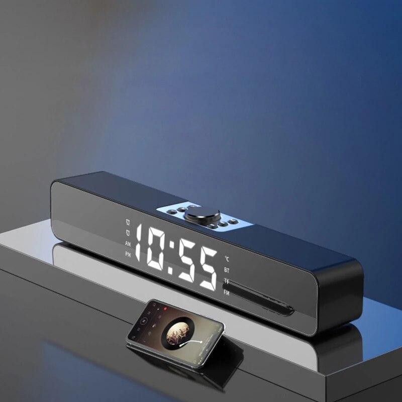 Barra de sonido LED para TV, altavoz inalámbrico con Bluetooth, para cine...