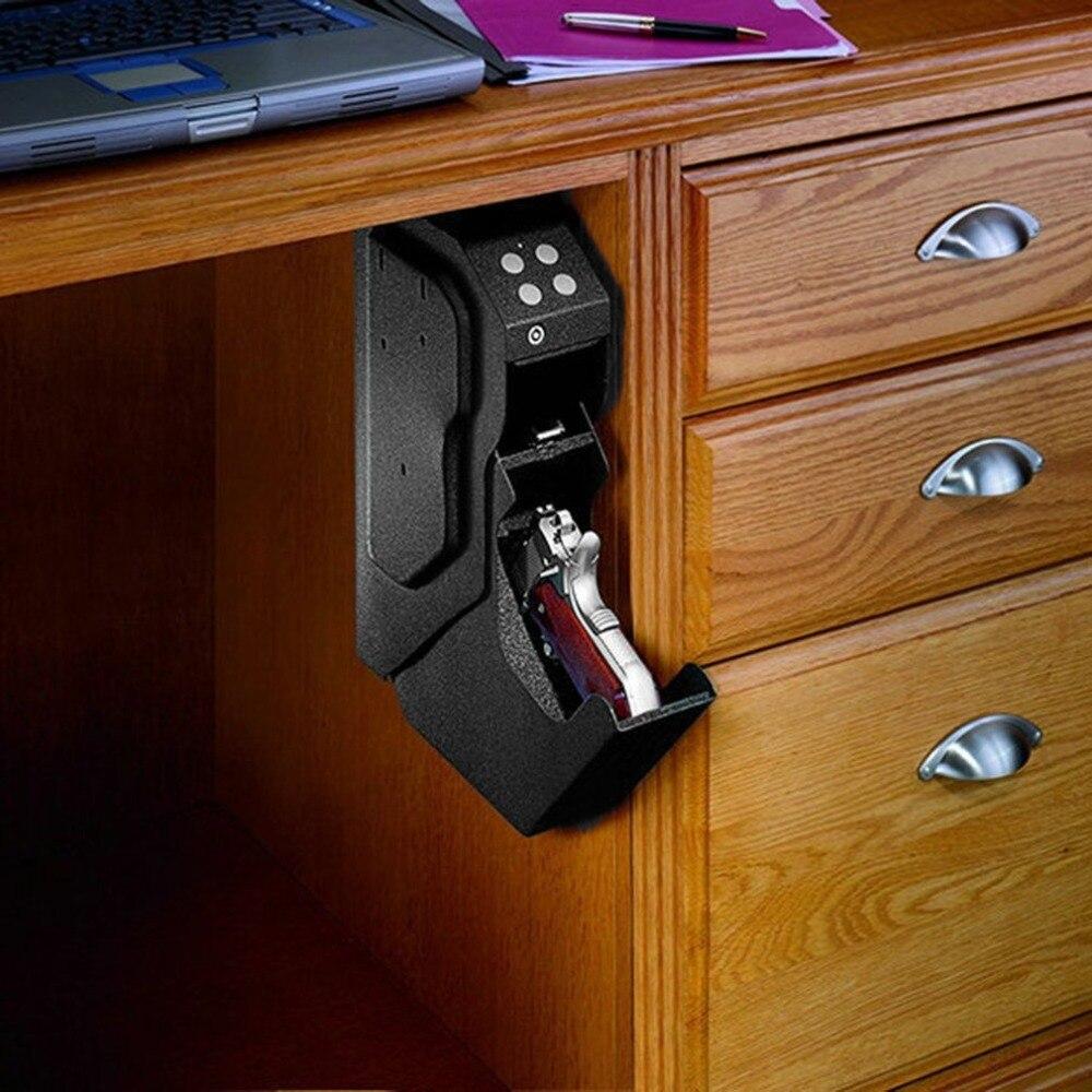 الإبداعية السلامة كلمة السر صندوق أمام للبندقية صندوق بندقية المحمولة سر قوي الأمن رمز رقمي المدرفلة على البارد الصلب المعدني