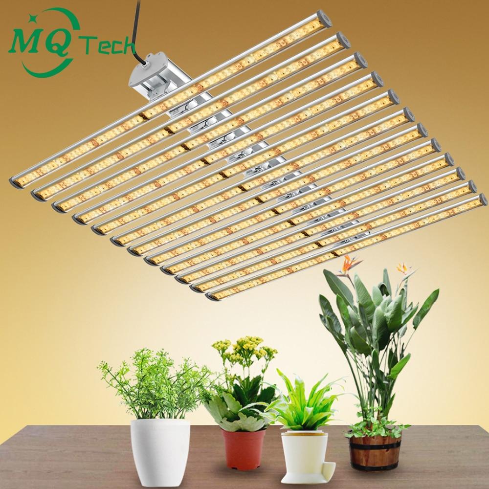 LED Full Spectrum 720W Grow Light 12Bars Superbright 3000K 6000K For Greenhouse Plants Growing Increase Yield, CE ETL Certified