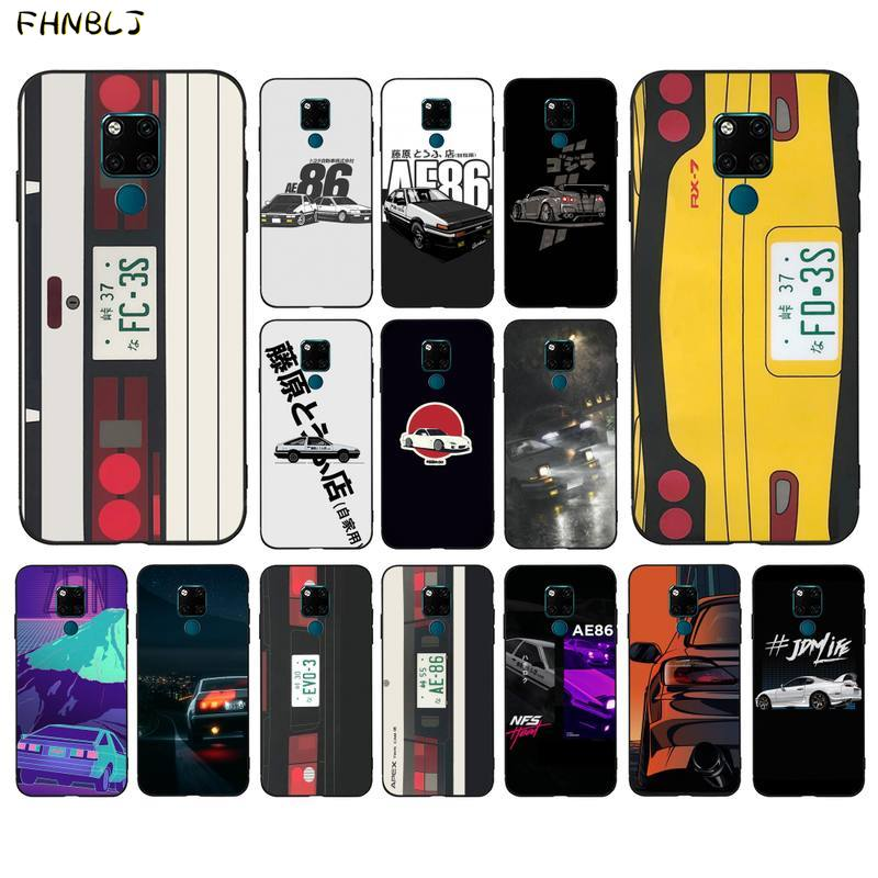 Чехол для мобильного телефона FHNBLJ Japan Anime Initial D Car taillight для huawei mate 8 S 9 30 10 lite 10pro 20 X 20pro 20lite