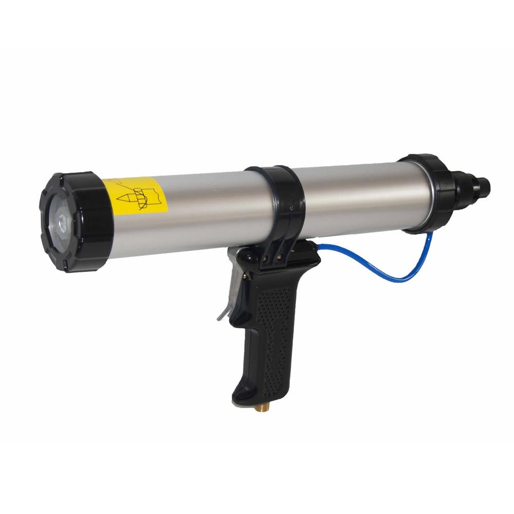 400ml signal cartridge pneumatic mixer gun for polyurethane