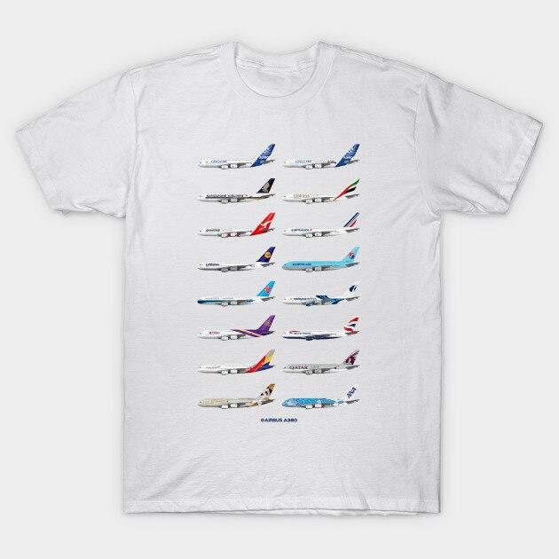 Camiseta para hombre, Airbus A380 Operators, ilustración de stevehclark, camiseta para mujer