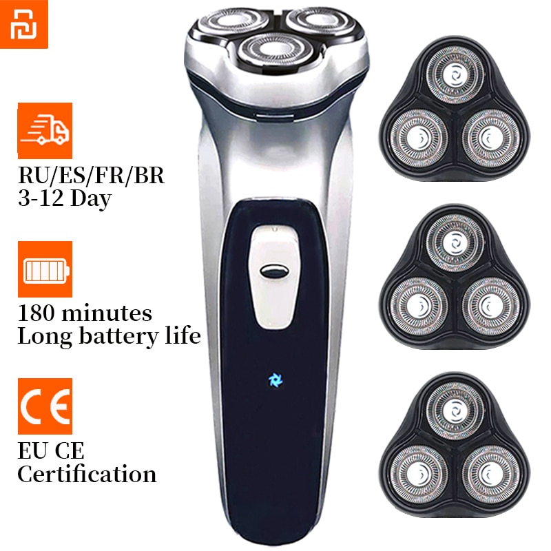 Clipper Electric Shaver Men's Razor Beard Trimmer shaver for men Mi Youpin portable Shaving machine hair clipper Facial epilato