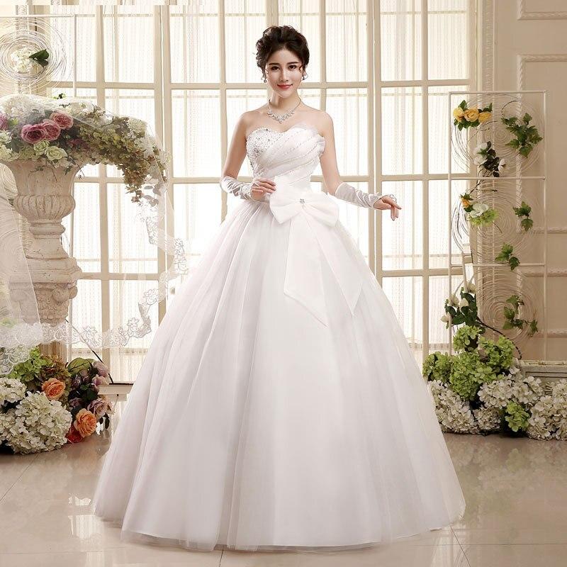 مصنع الجملة القوس الكبير فستان الزفاف 2019 النسخة الكورية الحبيب قبالة الكتف الشيفون زي العرائس Vestidos دي نوفيا