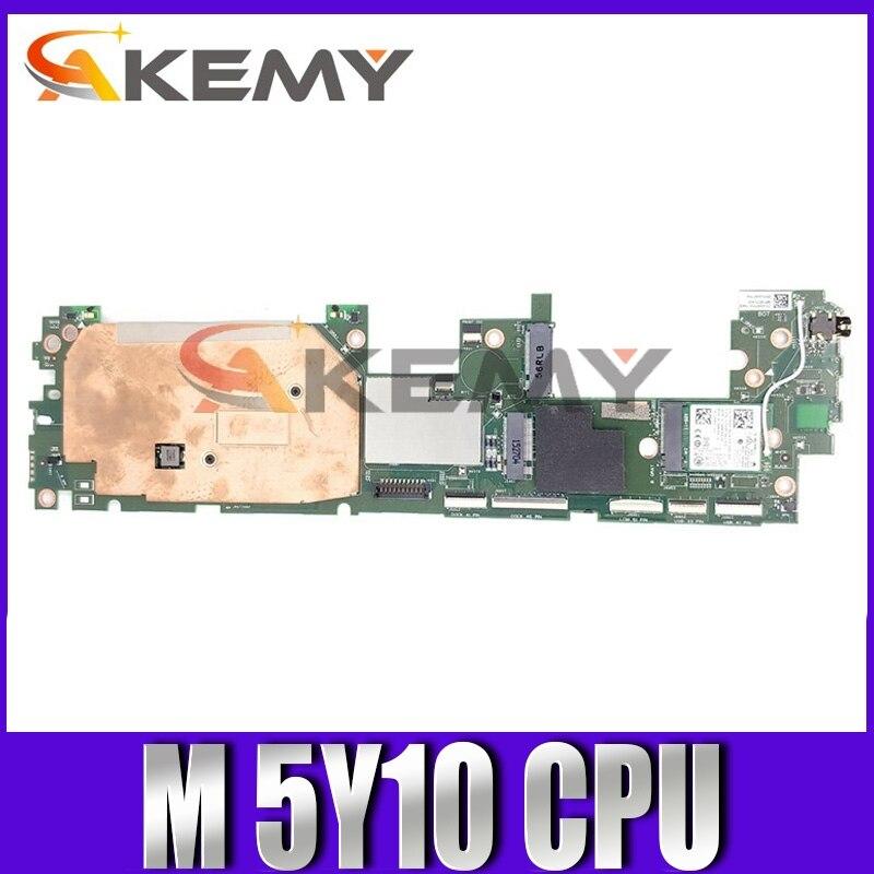 اللوحة الأم الأصلي لأجهزة الكمبيوتر المحمول ديل المكان 11 برو 7140 M 5Y10c اللوحة الرئيسية CN-00853X 00853X JCT2 SR23C DDR3L