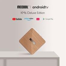 Новый KM6 Deluxe ТВ Amlogic S905X4 AV1 Смарт ТВ Box Android 10 4 Гб Оперативная память 32GB/64GB Встроенная память 2,4G 5G Wi Fi 6 BT 4 к HD декодер каналов кабельного телевидения компьютерной приставки к телевизору, 2 Гб оперативной памяти, 16 Гб встроенной памяти,