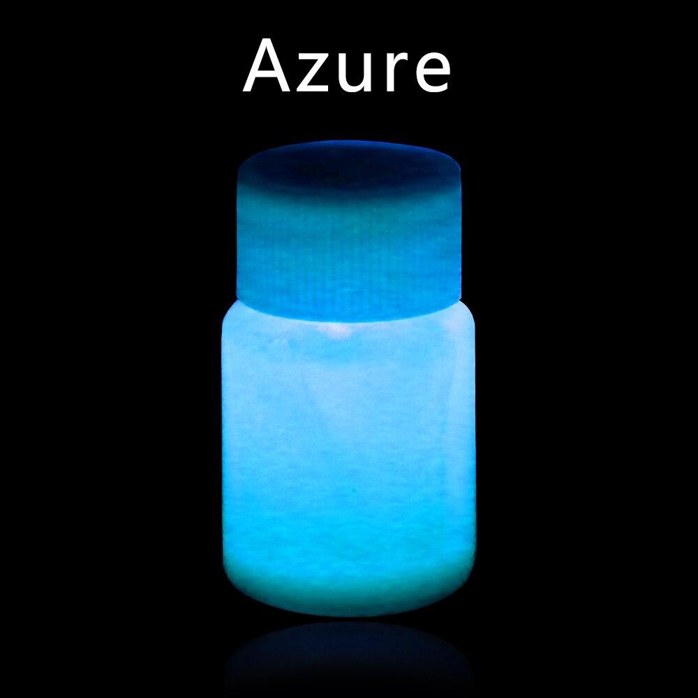 Luminous Paint Phosphor Pigment Shining Acrylic Paint 20g Azure for DIY Home Party Decoration Fluore